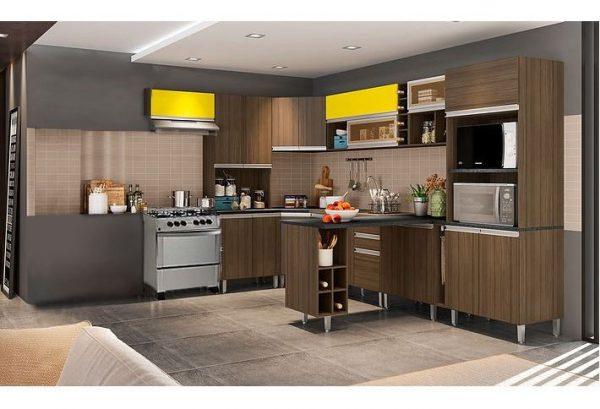Amoblamiento De Cocina Modular Muebles Completo - Ltc